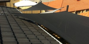 ONE Shade Sails Perth, Shade sails over decking