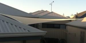 ONE Shade Sails, courtyard sail Perth WA
