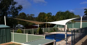 Pool shade sails perth hills