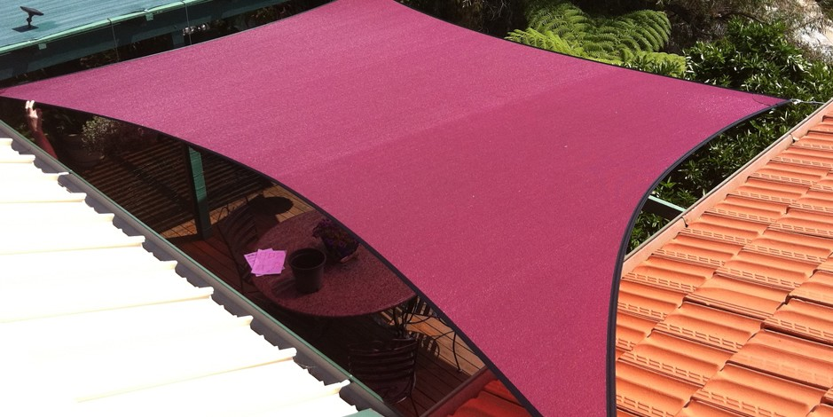 Deck and courtyard shade sails perth
