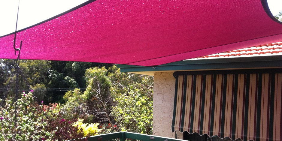 Deck and courtyard shade sails perth