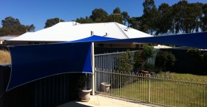 Pool and Privacy shade sail perth