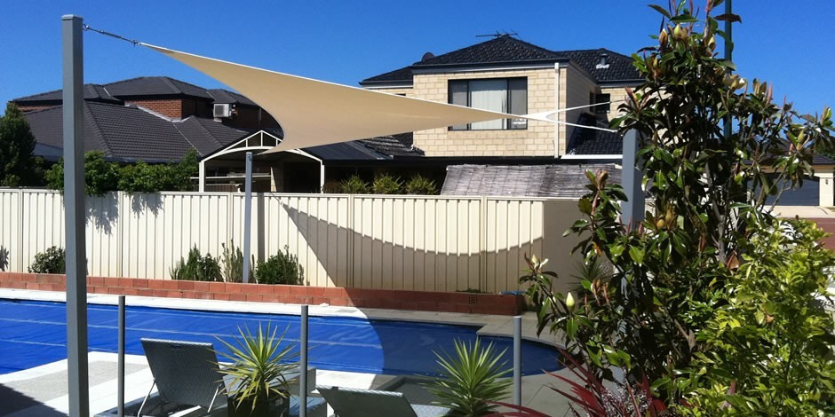 ONE Shade Sails Perth Residential pool shade sails