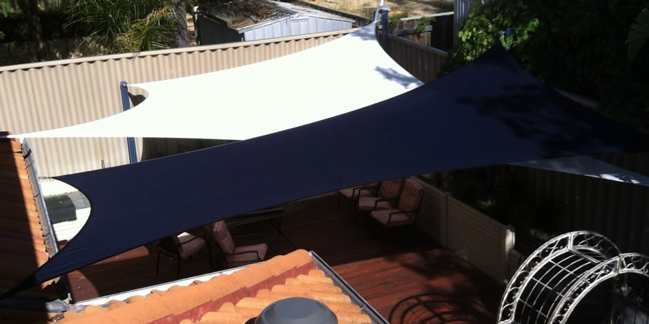 decking and courtyard shade sails perth