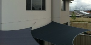 courtyard shade sails Perth Western Australia