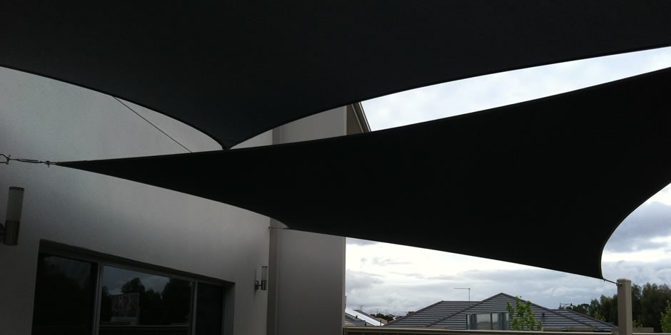 courtyard shade sails Perth Western Australia