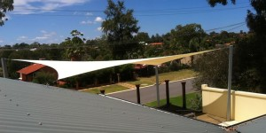 ONE Shade Sails Perth - Pool Decking Shade