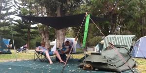 Camping shade
