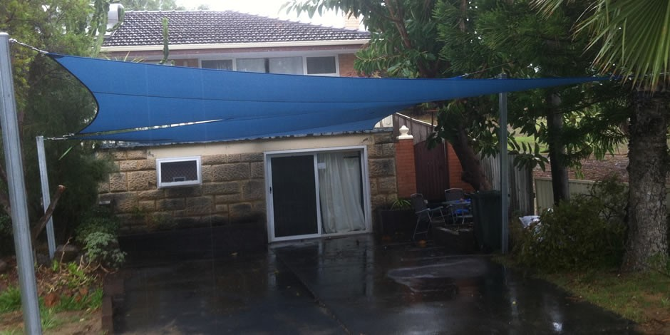 Scarborough car port shade sails perth