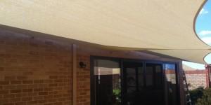 courtyard shade sails by one shade sails perth