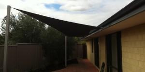 Kallaroo shade sails replacement, after recent storm