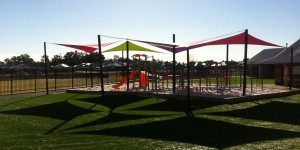 Melvern Springs Primary school shade sails