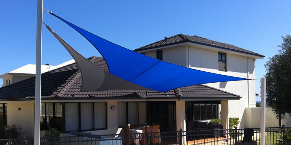 One shade sails perth shade sail structure specialists for Shade sail cost
