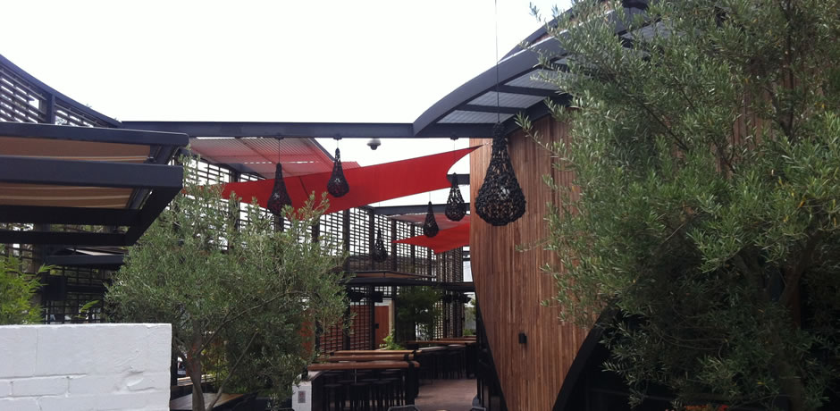 ONE Shade sails Perth, The Merry well at Burswood