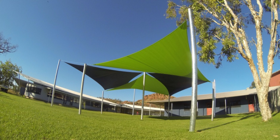 Kununurra district high school shade sails, ONE Shade Sails Perth