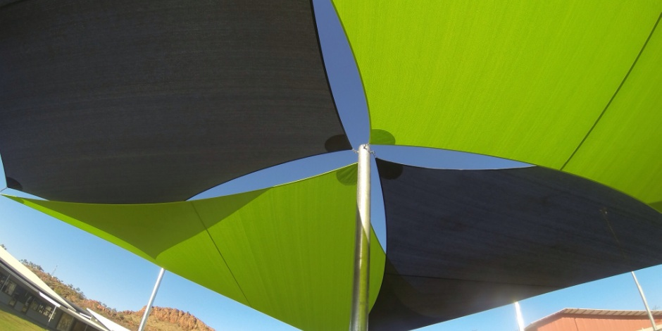 Shade sail for parks