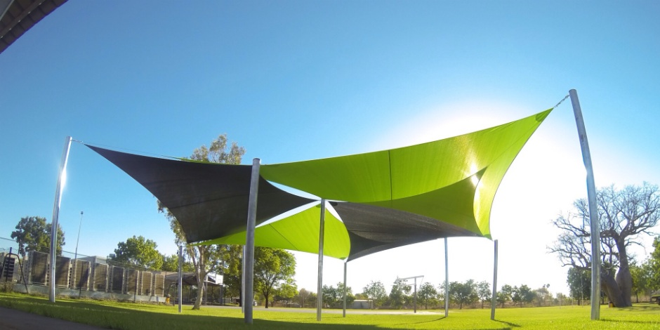 One shade sails perth commercial shade sails portfolio for Shadesails com