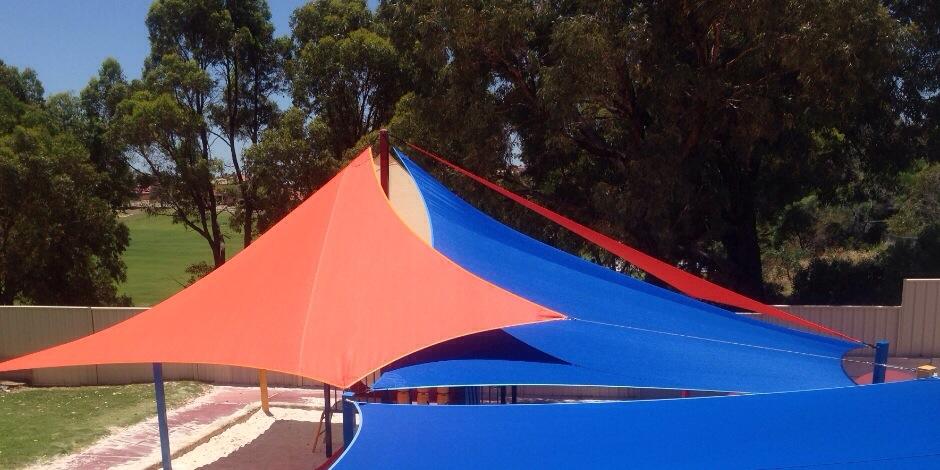 KidzBiz childcare shade sails perth childcare shade sails Perth