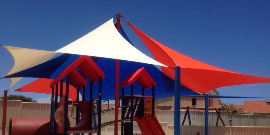 KidzBiz childcare shade sails perth
