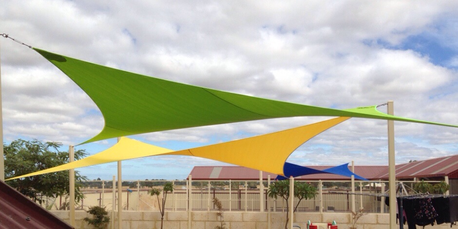 shade sails perth, colour in the perth hills