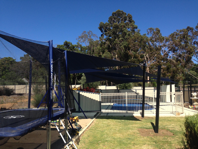 Shade Sail installation Mundairing Perth