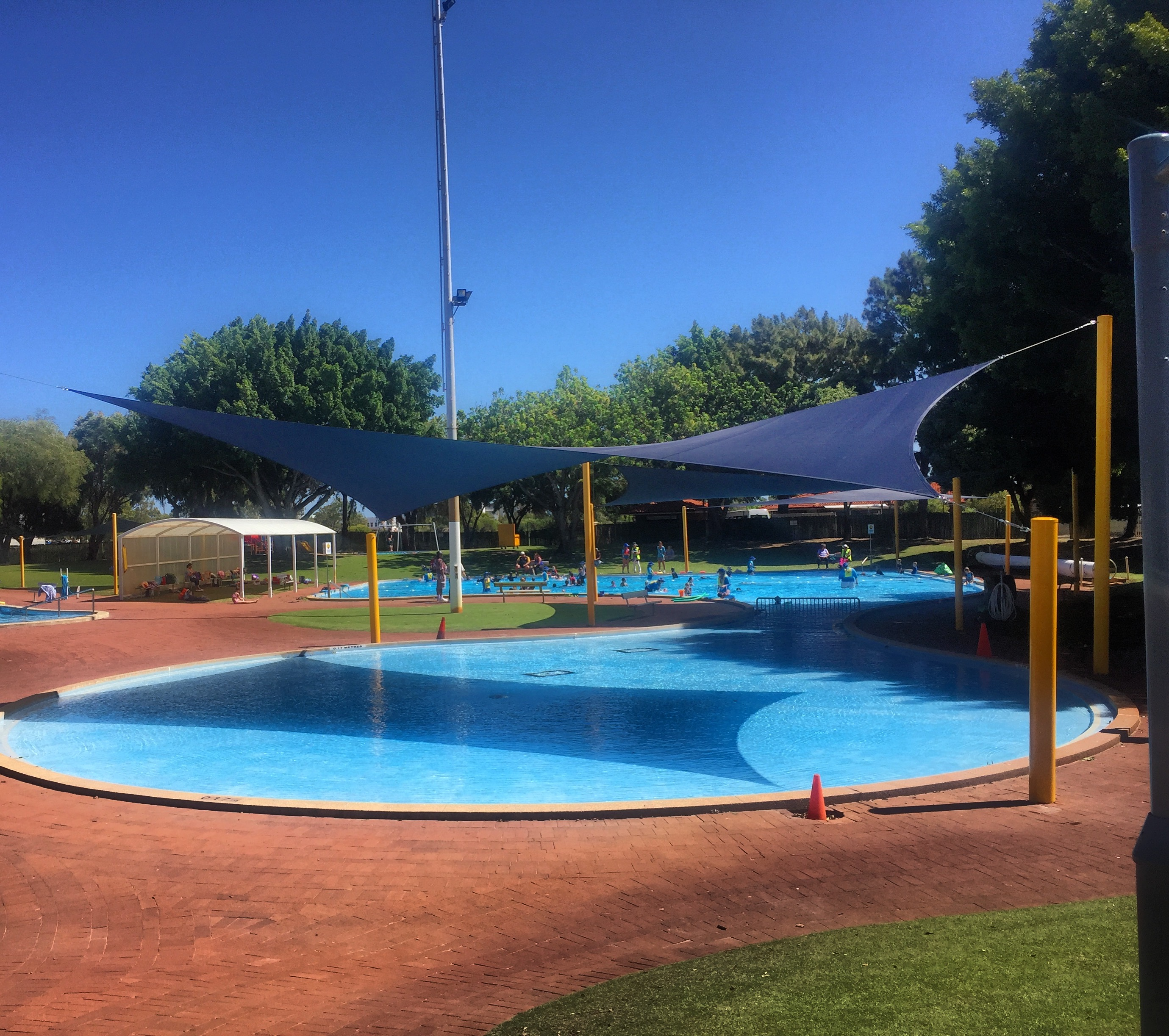 Swimming pool shade sails Perth